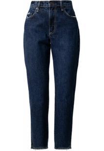 Nobody Denim Calça Jeans Reta Bessette - Azul