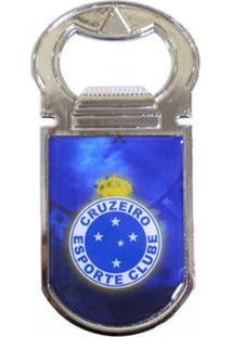 Abridor De Garrafas Magnético Cruzeiro - Unissex