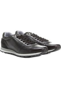Sapatênis Couro Rafarillo Flat Sneakers - Masculino