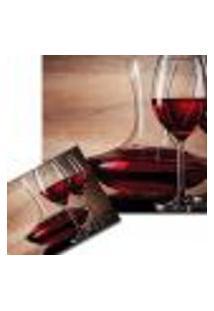 Jogo Americano Vinho Tinto