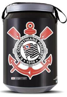 Cooler Térmico 24 Latas Pro Tork Corinthians - Unissex-Branco