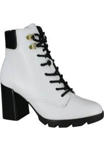 Bota Feminina Beira Rio Conforto Ankle Boot