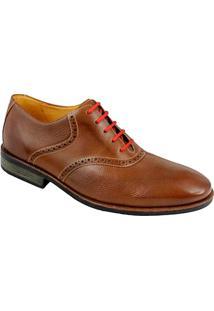 Sapato Social Masculino Oxford Sandro Moscoloni Matthew Marrom