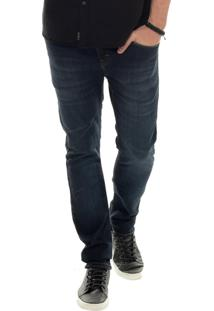 Calça John John Rock Skinny Amsterdam Jeans Azul Masculina (Jeans Escuro, 36)