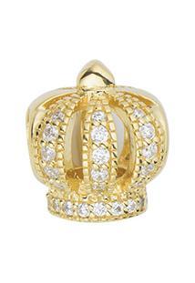 Pingente Life Coroa Dourada