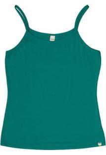 Blusa De Alça Rovitex Básicos Verde