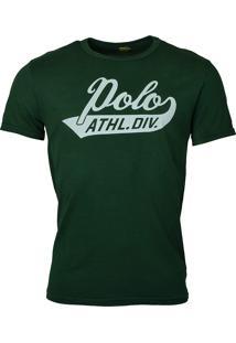 Camiseta Ralph Lauren Polo Athletic Division Verde