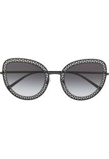 Dolce & Gabbana Eyewear Óculos De Sol Clássico - Preto