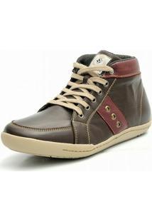 Bota Casual Shoes Grand Cafe Vinho