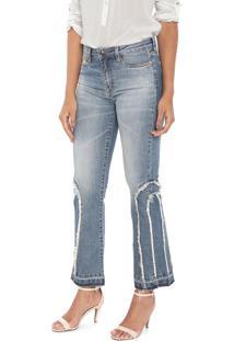 Calça Jeans Carmim Bootcut Ushuaia Azul