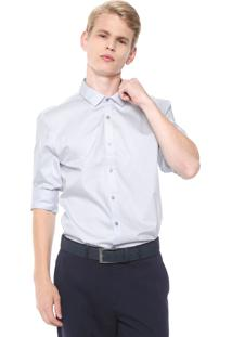 Camisa Calvin Klein Reta Cannes Lilás