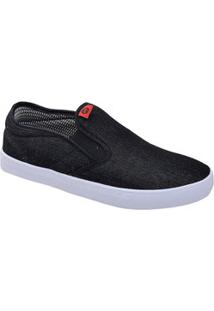 Tênis Masculino Casual Slip On Jeans Inverse Ollie