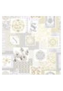 Papel De Parede Adesivo Decoração 53X10Cm Bege -W29705