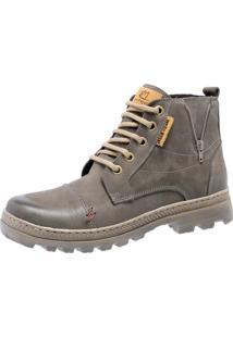 Bota Mega Boots 6006 Man Cinza