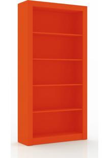 Estante Alta Multiuso Com 5 Prateleiras Movelbento - Laranja - Multistock