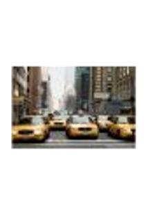 Painel Adesivo De Parede - Nova Iorque - Táxis - 707Png