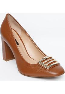 991afd5f2 Privalia. Sapato Tradicional Em Couro Com Aviamento Metalizado - Mjorge  Bischoff