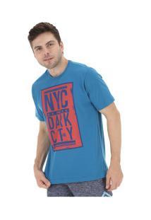Camiseta Fatal Estampada 20250 - Masculina - Azul