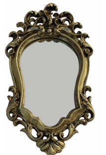 Espelho Casa Da Mãe Joana Venezia Dourado