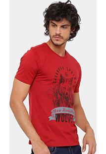 Camiseta Timberland Wolves Masculina - Masculino