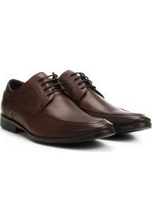 Sapato Social Couro Ferracini Dimitri Perfuros - Masculino-Marrom