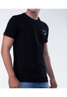 Camiseta Mormaii Wetsuits Masculina - Masculino-Preto