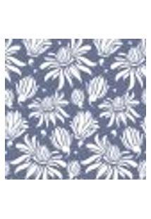 Papel De Parede Adesivo - Flores Brancas - 086Ppf