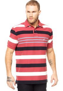 Camisa Polo Nautica Vermelha