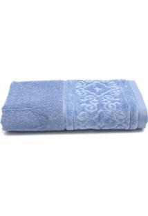 Toalha De Banho Santista Unique Leslie Fio Penteado 70Cmx1,40M Azul