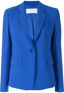 Boss Blazer De Lã - Azul
