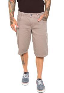 Bermuda Jeans Volcom Reta Vorta Bege