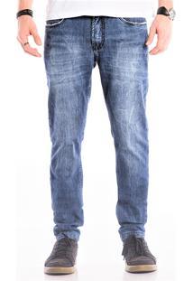 Calça Jeans Iven Skinny Blue Storm Azul