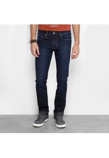 Calça Jeans Slim Colcci Alex Masculina - Masculino-Azul Escuro