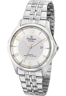 Relógio Champion Steel Ca21615Q Analógico Feminino - Feminino-Prata