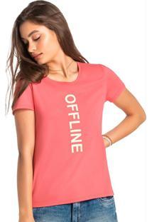 Blusa Rosa Tradicional Offline