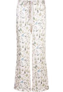 Morgan Lane Calça De Pijama Chantal - Rosa