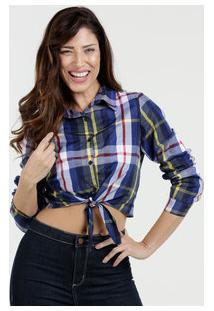 f5638003e0074 Camisa Caqui Manga Longa feminina