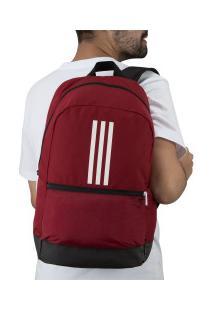 Mochila Adidas Classic Bp 3S - Vermelho/Branco