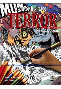 Arquivos Ilimitados. Terror Para Colorir