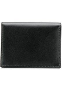 Comme Des Garçons Wallet Carteira Compacta - Preto