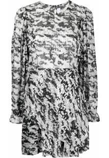 Iro Vestido Com Aplicação Metálica - Preto