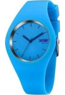 Relógio Skmei Analógico Feminino - Feminino-Azul