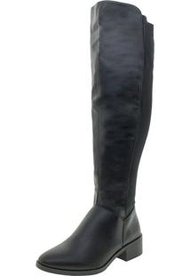 Bota Feminina Over The Knee Florentina - Bo65 Preto 34