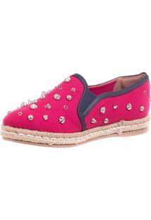 Alpargata Butique De Sapatos Pink Spikers