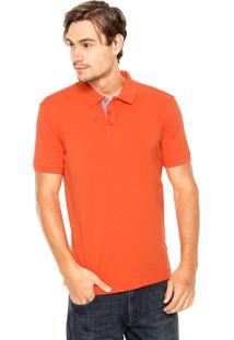 Camisa Polo Wrangler Basic Laranja