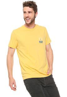 Camiseta Richards Sereia Amarelo