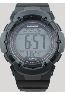 e09d2ada86b ... Relógio Digital Mormaii Masculino - Mo35718R Chumbo - Único