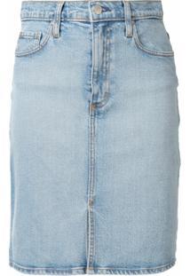 Nobody Denim Saia Jeans Siren - Azul