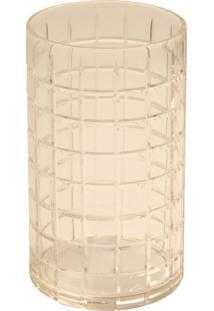 Porta-Velas De Vidro Decorativo Main