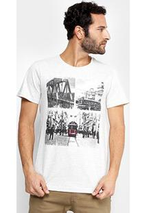 Camiseta Burn London 1930 Masculina - Masculino-Mescla